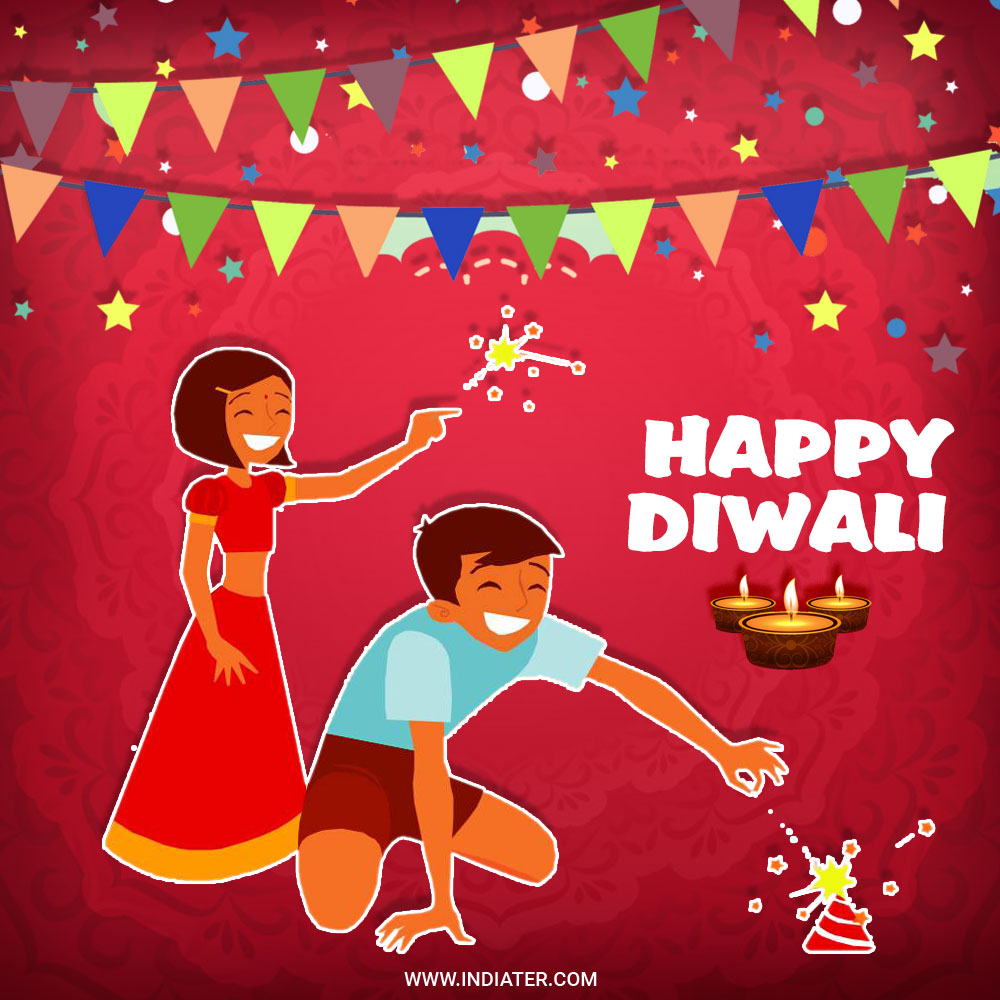 Happy Diwali Celebration Whatsapp status photo