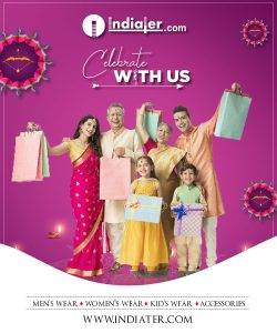 Diwali Fashion sale promotion customizable poster template