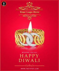 illustration-of-Happy-Diwali-jewelery-promotion-background-with-diya
