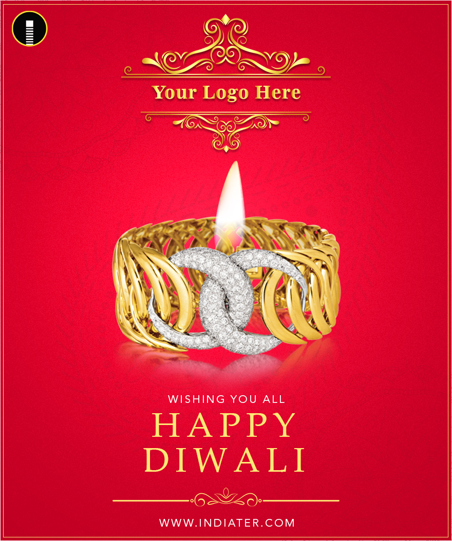 illustration-of-Happy-Diwali-jewelery-promotion-background-with-diya
