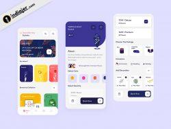 Spike Flower Delivery sketch mobile app design free download
