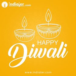 vector-illustration-greeting-card-diwali-festival