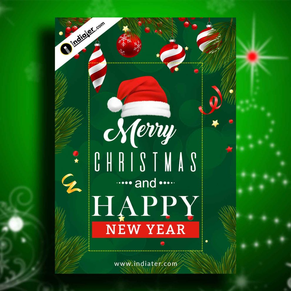 Merry Christmas Images 2020 Free Download merry christmas and happy new year wishes 2020 free download flyer