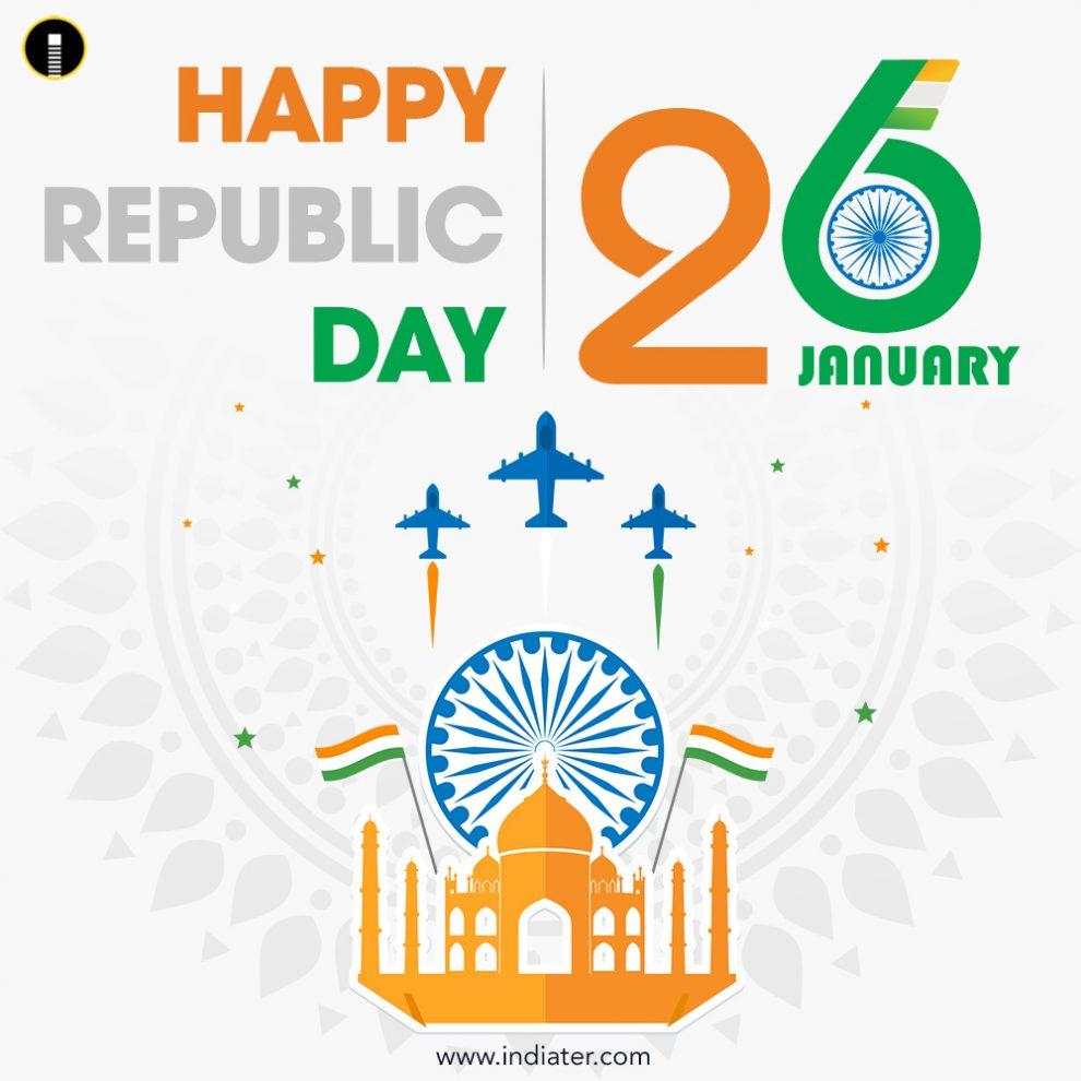 26-January-Happy-Indian-Republic-Day-celebration