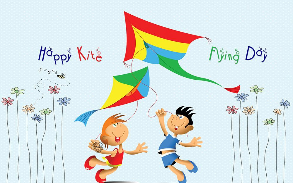 Indian Festival Happy Makar Sankranti HD Desktop Background Wallpapers