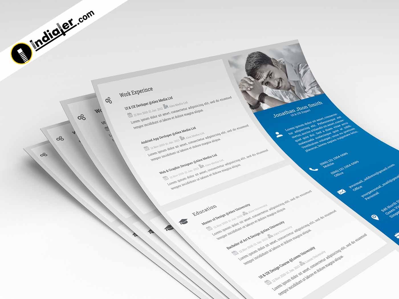 free resume templates edit  u0026 download