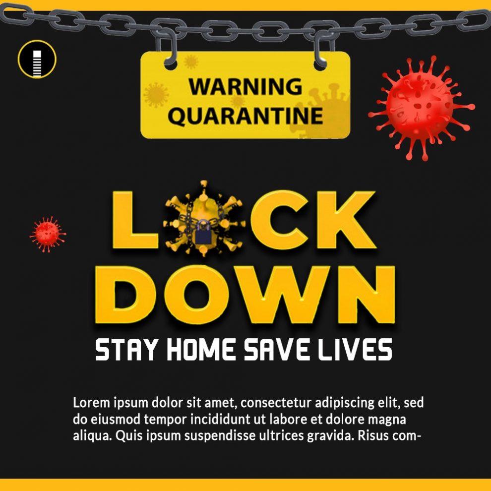 Download Coronavirus Lockdown Awareness Amp Alert Stay At