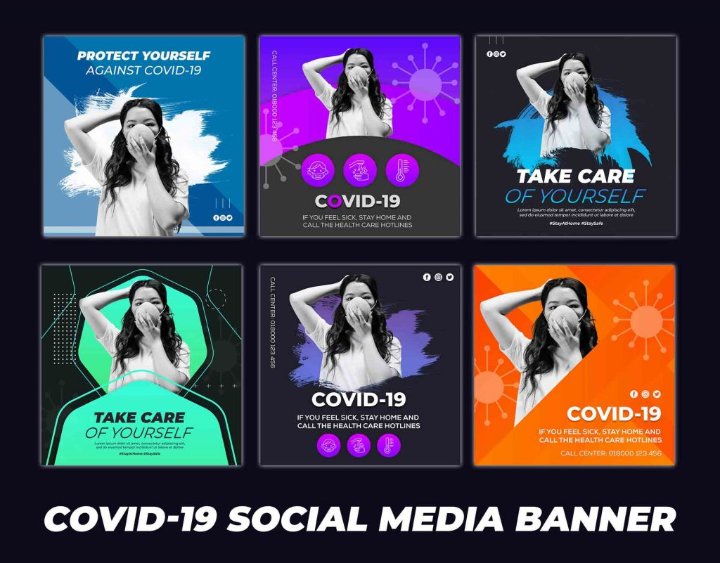 Coronavirus Or Covid 19 Social Media One Week Campaign Design Ideas Post Banner Free Download Indiater