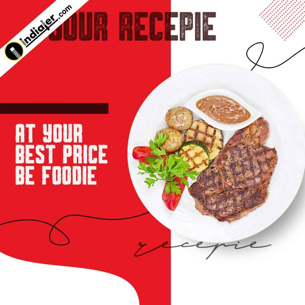 Delicious Food Social Media Post And Web Banner Template