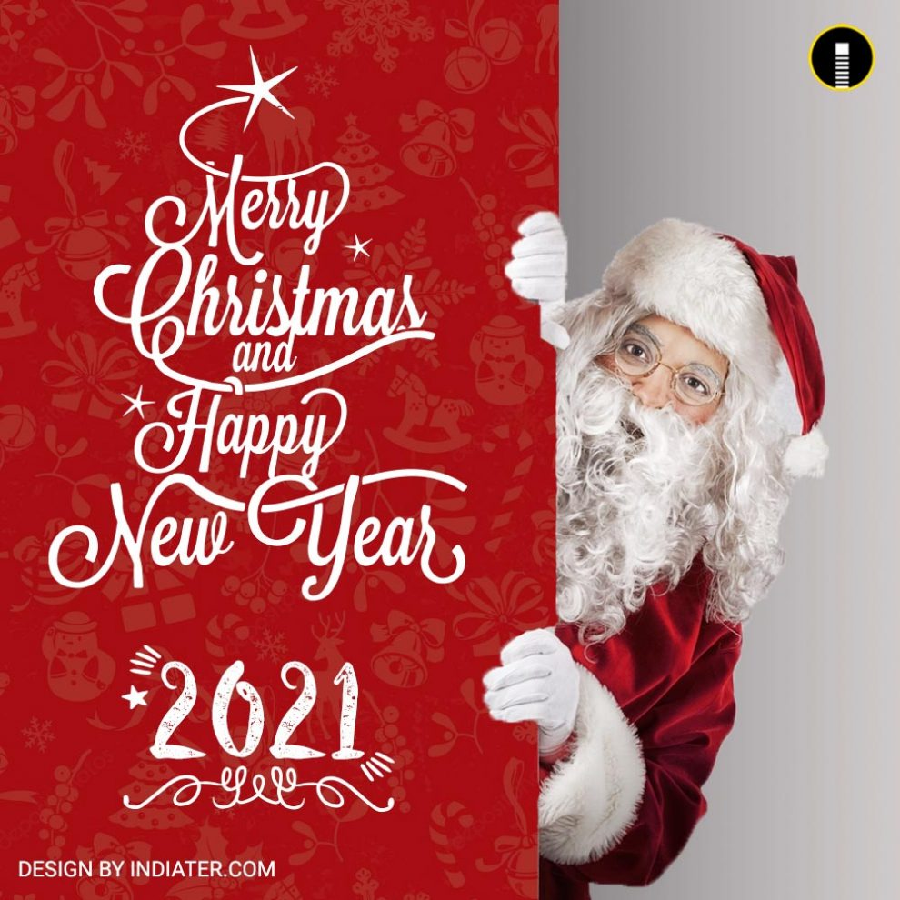 Merry Christmas And Happy New Year 2021 Greetings Free Merry Christmas And Happy New Year 2021 Wishes Greeting Banner Template Psd Indiater